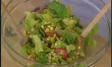 Romaine, Avocado and Corn Salad