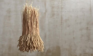 Rustic Wheat Chandelier How-To
