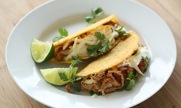 Spicy Slow-Cooker Chicken Taco