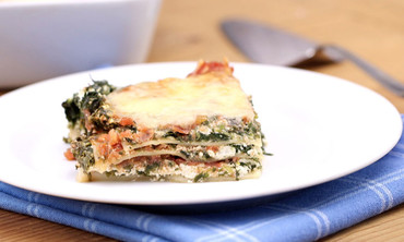 Spinach and Prosciutto Lasagna Recipe
