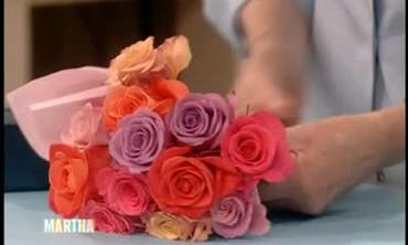 Valentines Special Flower Wrap