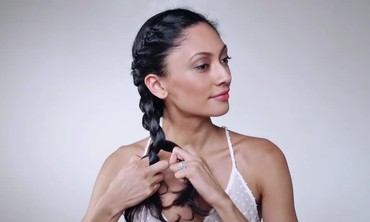 Braided Updo Hairstyle How-To
