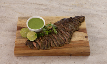 Cilantro-Buttermilk Skirt Steak
