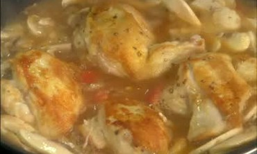 Classic French Chicken Chasseur