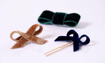 Easy-to-Create Velvet Hair Bows