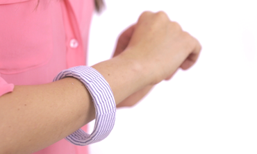 Easy DIY Fabric-Wrapped Bangles