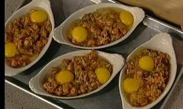 Emeril's Recipe for Shirred Eggs