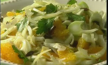 Fennel, Orange and Parsley Salad