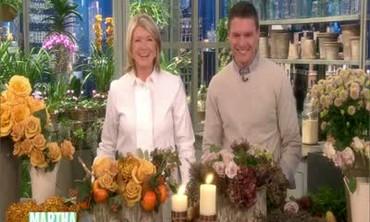 Floral Thanksgiving Centerpiece