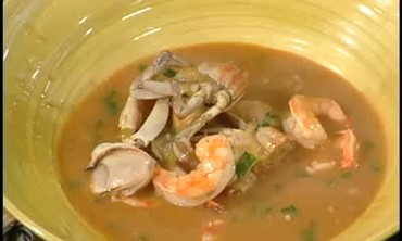 Gumbo Z'herbes and Seafood Gumbo