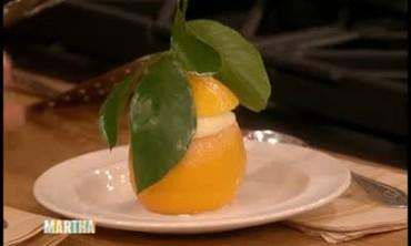 How Plate Little Lemon Souffles