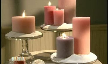 How to Make Molded Sand Candles
