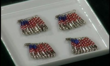 How to Make Patriotic Flag Pins