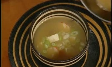 Lobster Miso Soup Recipe Part 2