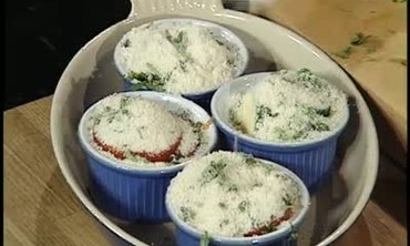 Parmesan Tomato Zucchini Gratin