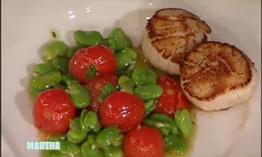 Quick Pan-seared Scallop Dinner