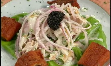 Smoked Sturgeon and Eel Salad