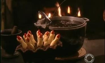 Spooky Halloween Finger Cookies