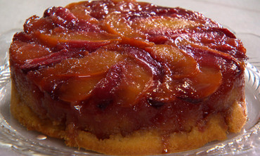 Stone-Fruit Upside-Down Cakes