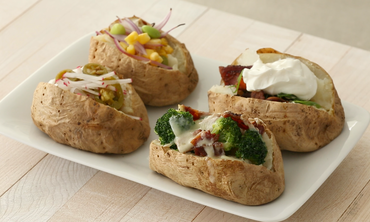 4 New Ways to Eat Baked Potatoes