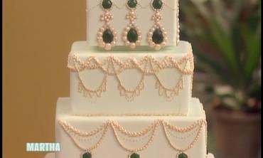 An Emerald Jewel Inspired Cake