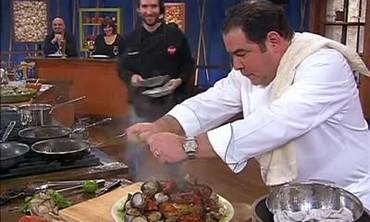 Chorizo, Clams and Chicken Recipe