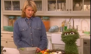 Composting with Oscar the Grouch
