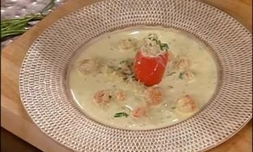 Creamy Herbed Rock Shrimp, Part 2