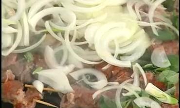 Emeril's Recipe for Lamb Souvlaki
