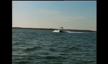 Fishing on the Long Island Sound