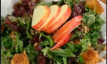 Fried Pont-l eveque Salad, part 2