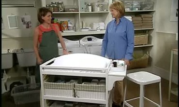 Furnishing a Baby Changing Table
