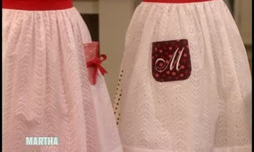 Good Thing: Simple Festive Aprons