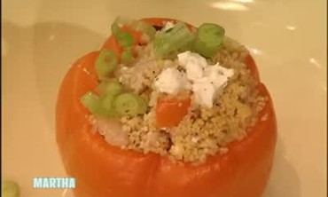 Greek Stuffed Peppers for Dinner