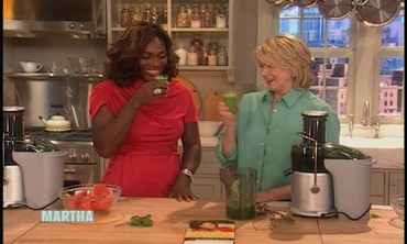 Green Juice with Serena Williams
