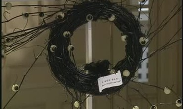 How to Create a Halloween Wreath