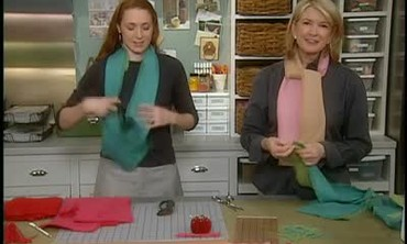 How to Make a Double Sided Scarf