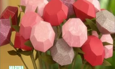 How to Make Diamond-Shaped Roses