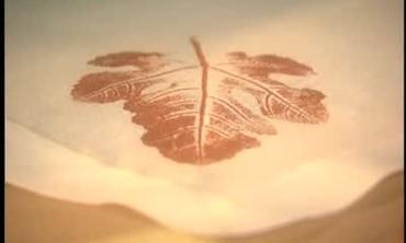 How to Make Leaf Pattern Napkins