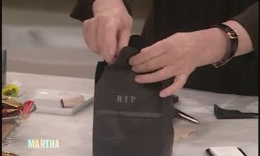 How to Make Tombstone Treat Bags
