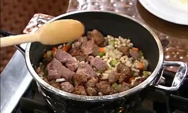 Lamb, Sausage and White Bean Stew