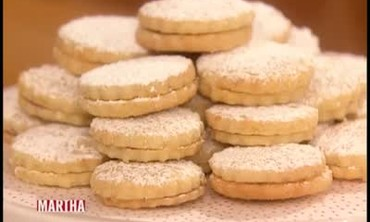 Lemon-Raspberry Sandwich Cookies