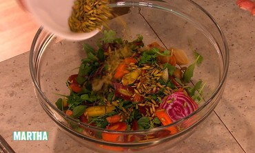 Lightly Smoked Beet Salad Recipe