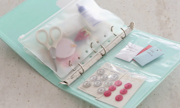 Make a Mending Kit in a Binder