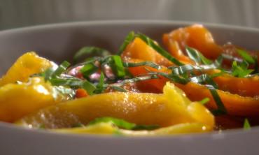 Marinated Roasted Pepper Salad
