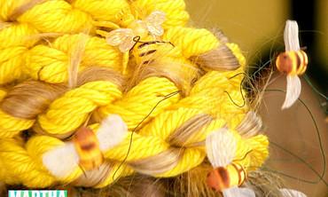 Halloween Beehive Hair