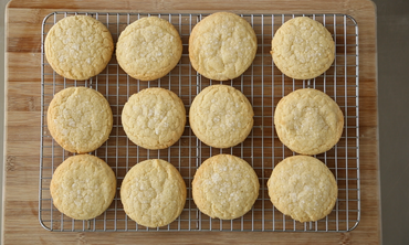 Old-Fashioned Lemon Sugar Cookie