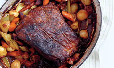 Pot Roast with Bacon and Veggies