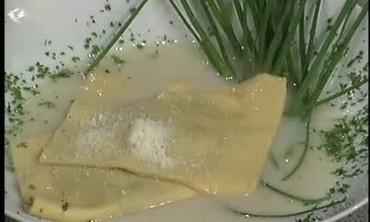 Potato and Wild Mushroom Ravioli