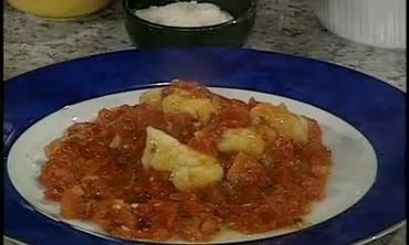 Potato Gnocchi with Tomato Sauce